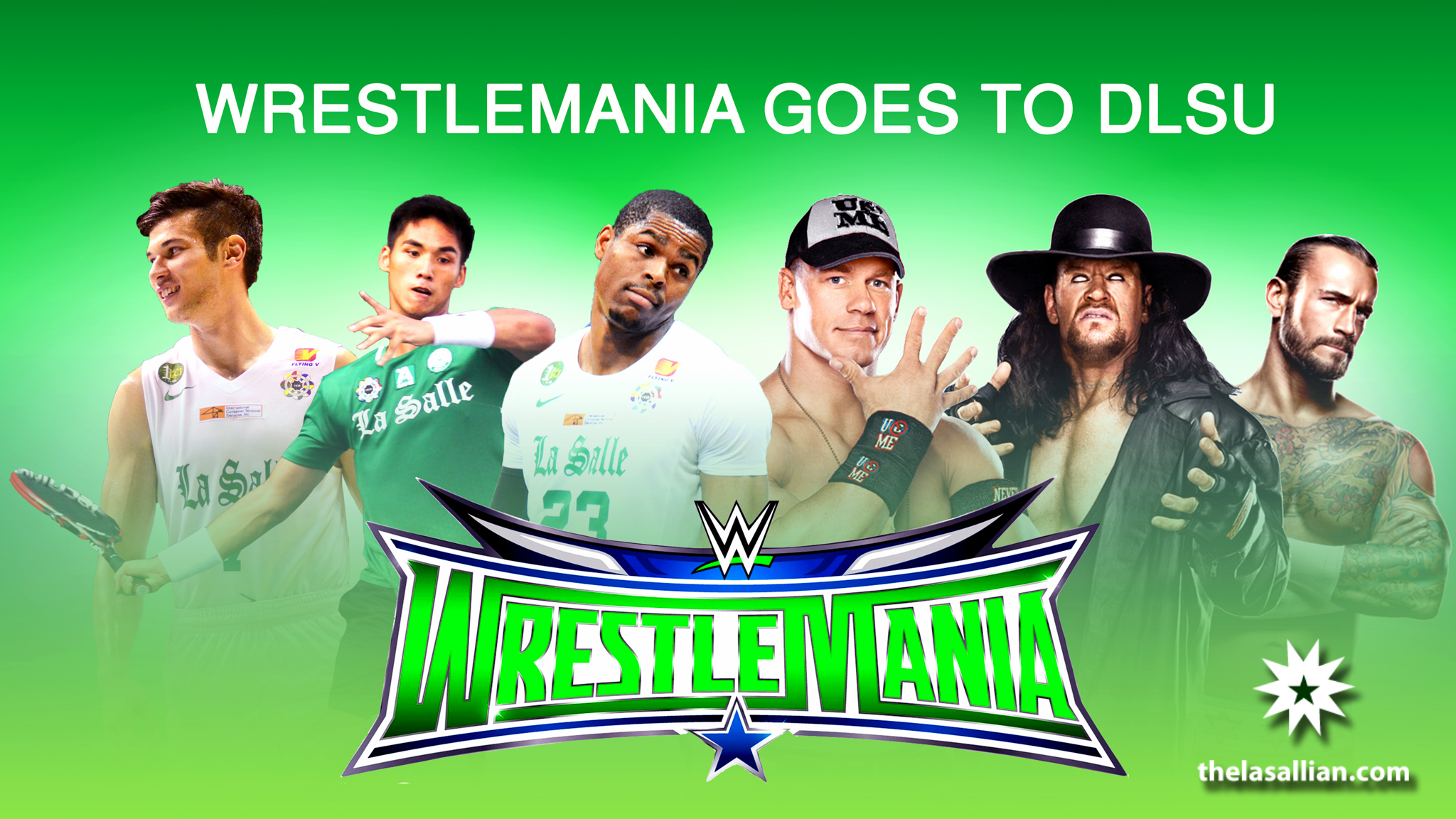 WRESTLEMANIA - edited by joyce