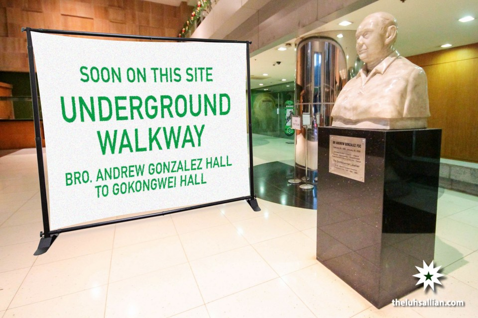 007 Gokongwei-Andrew underground walkway projected to finish by 2019